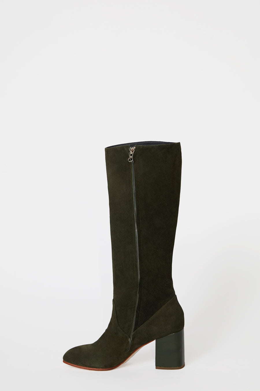 No.6 Sloan Knee High Boot in Pine / Bottle