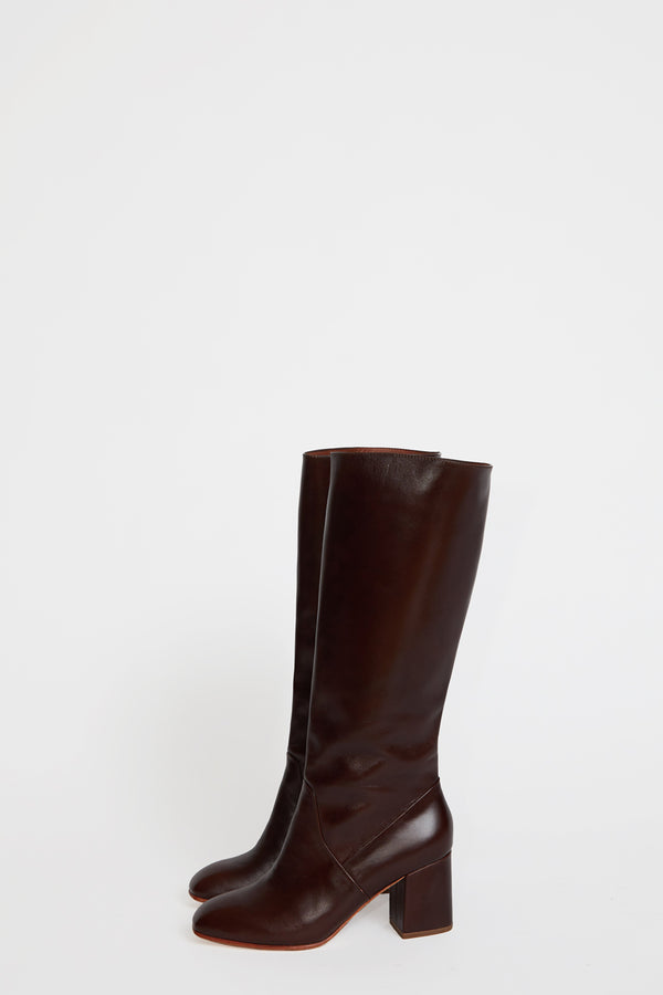No.6 Sloan Knee High Boot in Syrup Leather