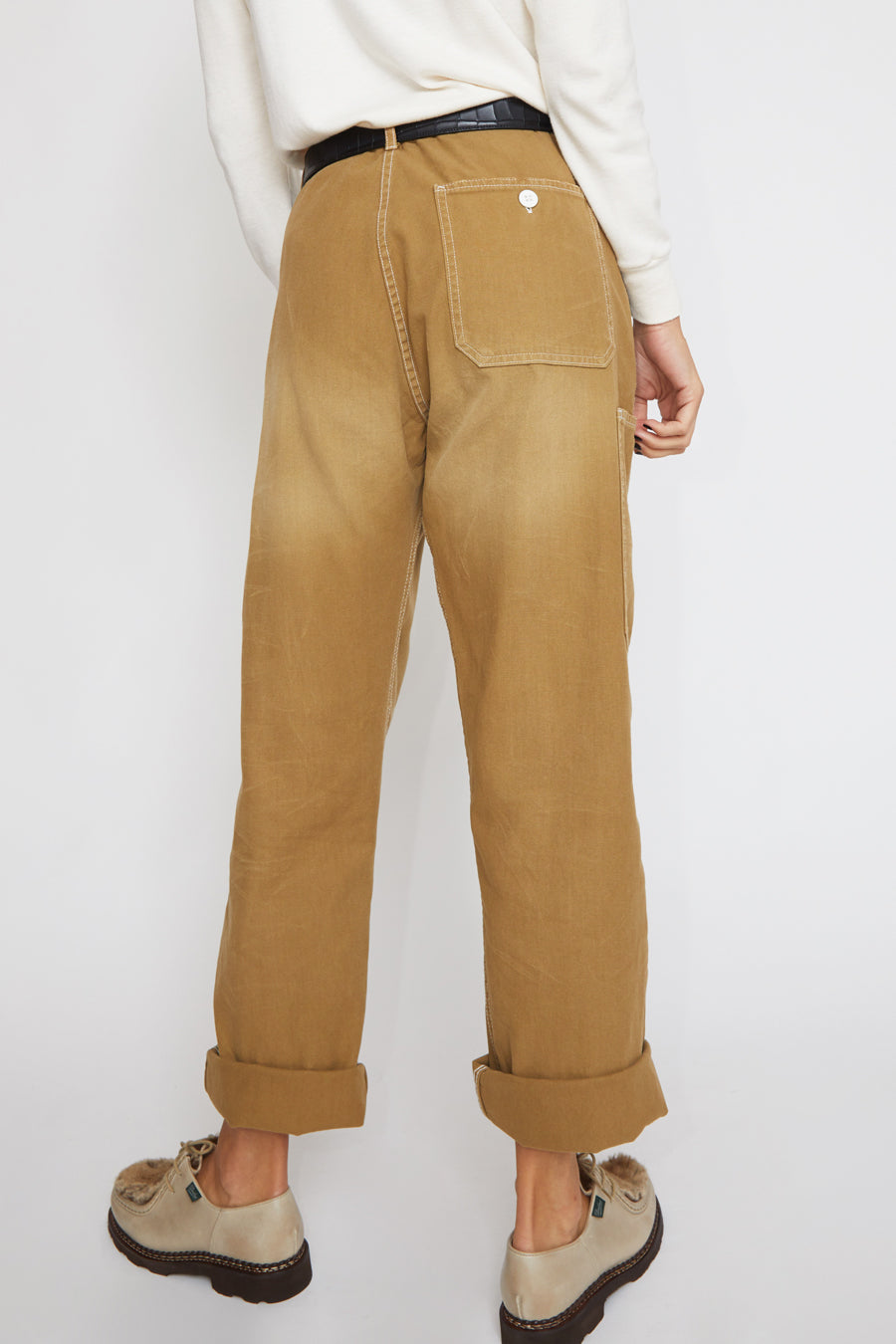 Sultan Wash Work Pant in Stone Sable