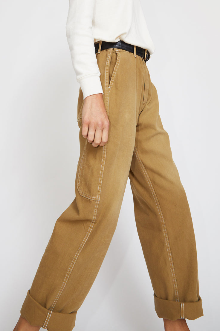 Image of Sultan Wash Work Pant in Stone Sable
