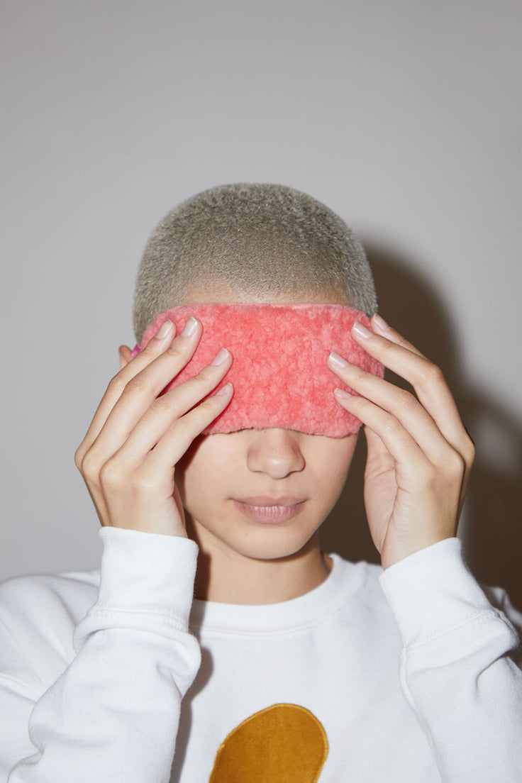 Image of Toasties Eye Mask in Pink