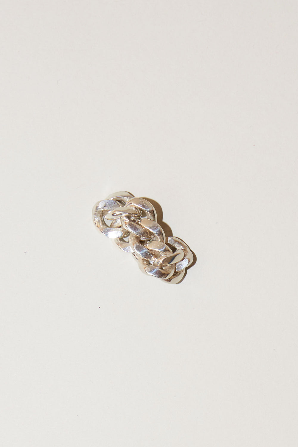 Vibe Harslof Elsa Chain Ring in Sterling Silver