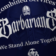 Alternative Barbarians Combined Services Payers Replica Rugby Shirt