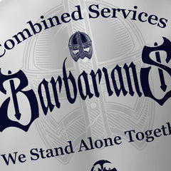 Barbarians Combined Services Payers Replica Rugby Shirt