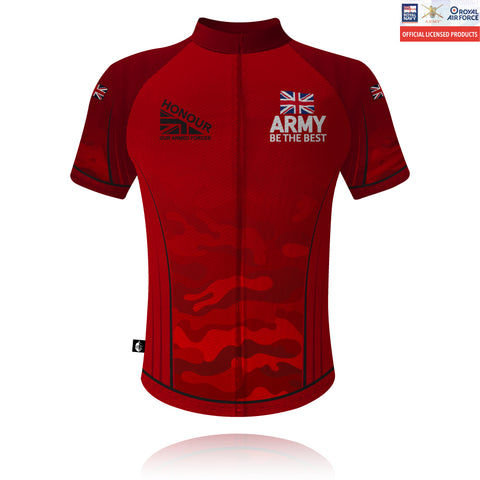 Honour Our Armed Forces British Army - Cycling Shirt