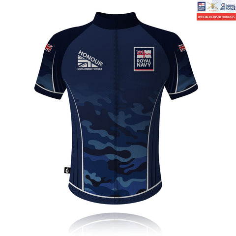 Honour Our Armed Forces Royal Navy - Cycling Shirt