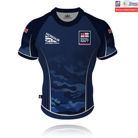 Honour Our Armed Forces Royal Navy - Rugby/Training Shirt