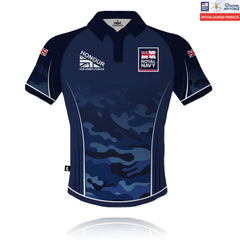 Honour Our Armed Forces Royal Navy - Tech Polo