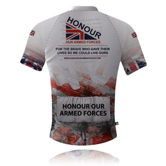Honour Our Armed Forces Remembrance Cycling Shirt