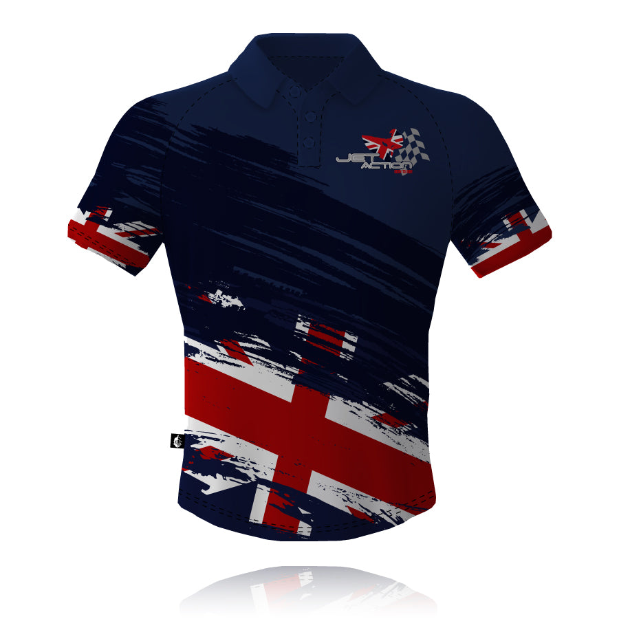 Jet Action 2019/2020 Navy Tech Polo