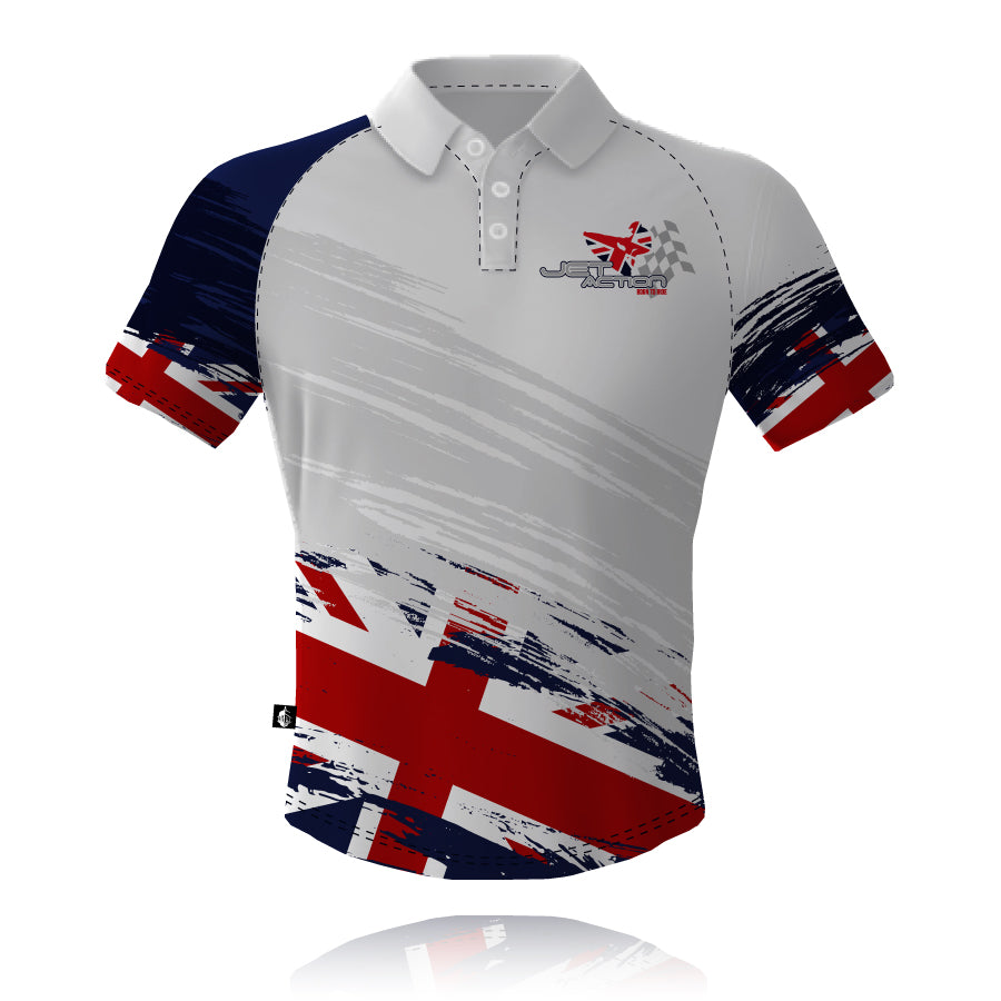 Jet Action 2019/2020 White Tech Polo