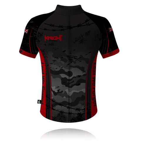 V9 Knight Sportswear Camouflage Cycling Shirt 2021