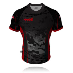 V9 Knight Sportswear Camouflage Rugby/Training Shirt 2021
