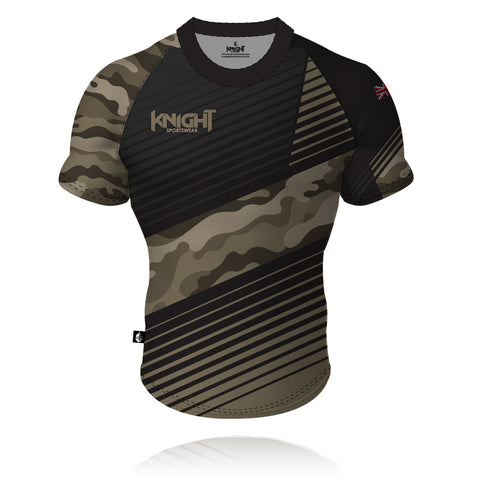 V8 Knight Sportswear Camouflage Rugby/Training Shirt 2020