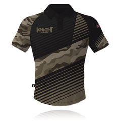 V8 Knight Sportswear Camouflage Tech Polo Shirt 2020