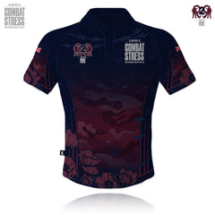 Combat Stress/R2R 2019-2020 Tech Polo Navy