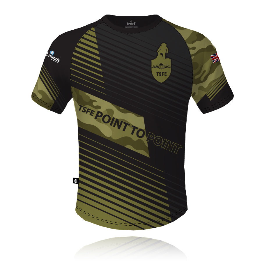 TSFE Point to Point Sublimated Tech Tee