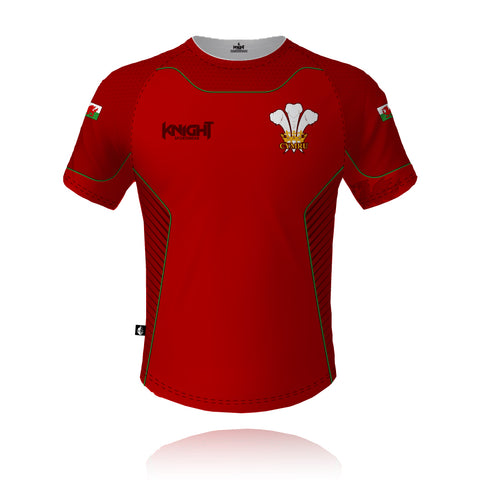 Knight Sportswear 2021/2022 Wales - Tech Tee