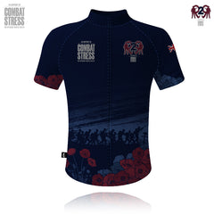 Combat Stress/R2R 1914-1918 WW1 Cycling Shirt