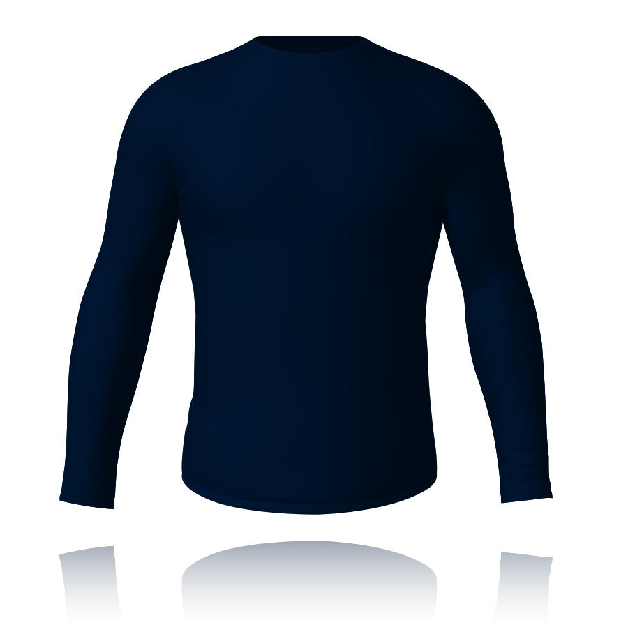 Baselayer Top Navy - Knight Sportswear  - 1