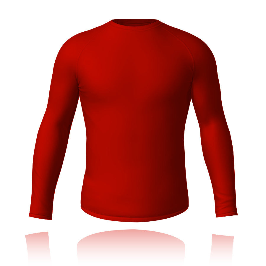 Baselayer Top Red - Knight Sportswear  - 1