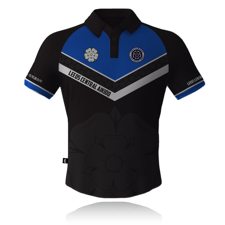 Leeds Central Aikido Polo Shirt - Knight Sportswear  - 1