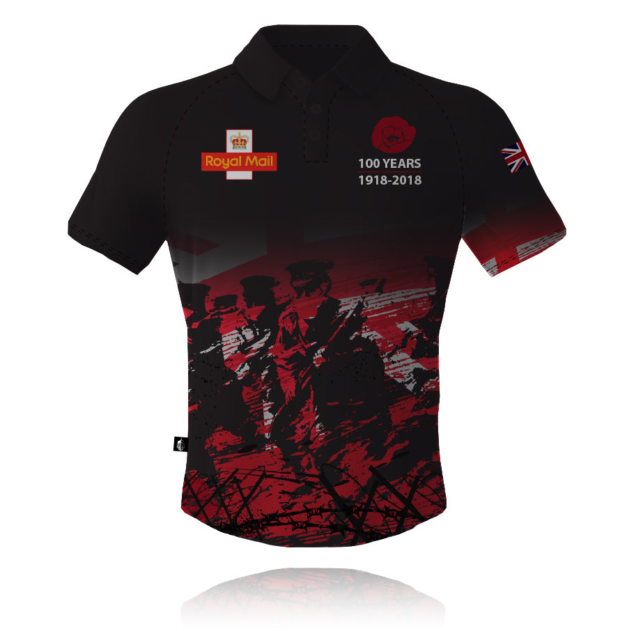 Post Office Rifles Tech Polo Shirt