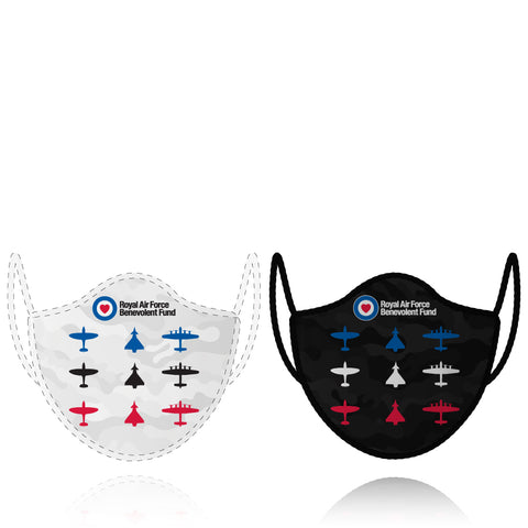 Royal Air Force Benevolent Fund - 2 x Face Mask Bundle