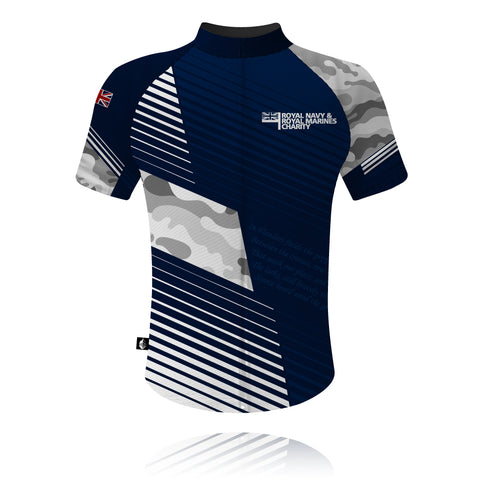 Royal Navy & Royal Marines Charity 2020 - Cycling Shirt