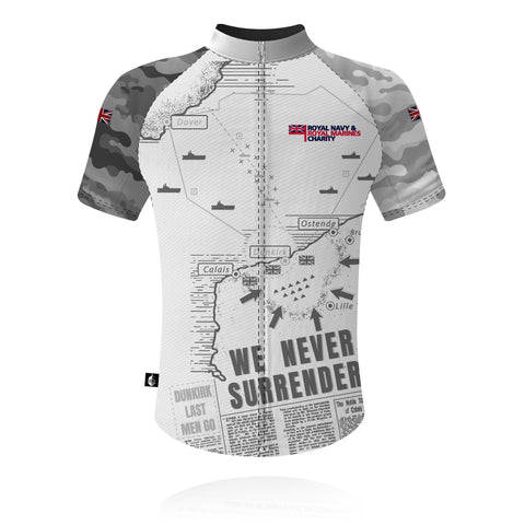 RNRMC Operation Dynamo White/Grey - Cycling Shirt