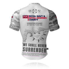 RNRMC Operation Dynamo White/Grey - Rugby/Training Shirt