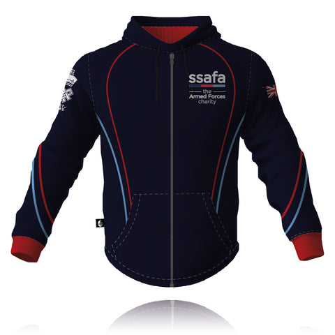 SSAFA the Armed Forces charity- 2019/2020 Full Zip Tech Hoodie