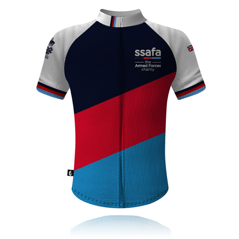 SSAFA the Armed Forces charity - 2020/2021 Cycling Shirt