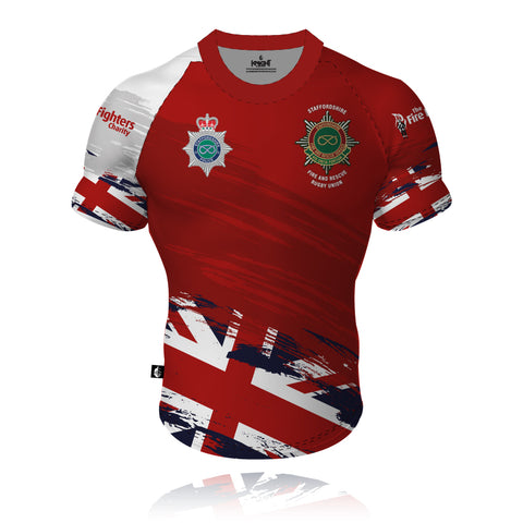 Staffordshire Fire & Rescue/Police - Rugby Union Rugby Shirt