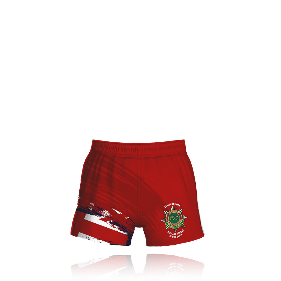 Staffordshire Fire & Rescue - Rugby Union Rugby Shorts