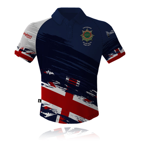 Staffordshire Fire & Rescue - Rugby Union Tech Polo