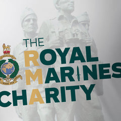 The Royal Marines Charity V1 2021 White - Tech Tee