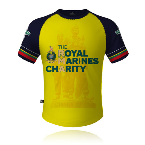The Royal Marines Charity V3 2021 Yellow - Tech Tee