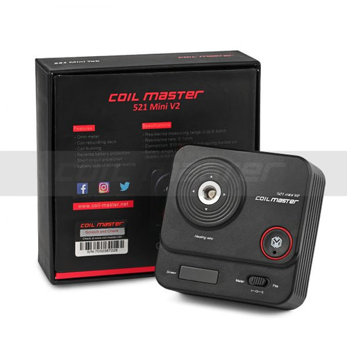 Authentic Coil Master 521 Tab Mini V2