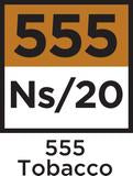 555 Tobacco NS20 Nic Salts 20ML