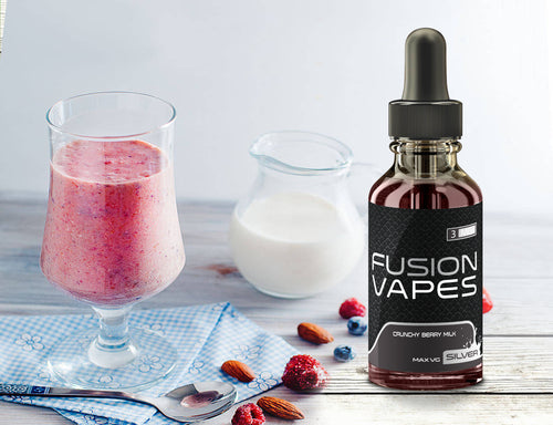 Fusion Vapes Silver 30ML\100ML