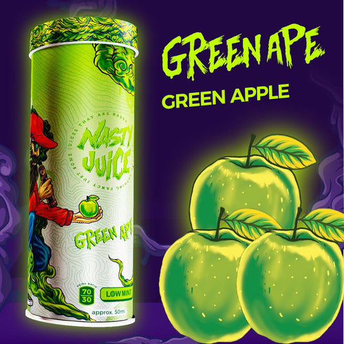 Nasty Juice | Green Ape 60ML - 3mg