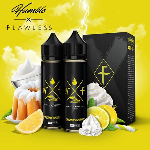 Humble x Flawless | Creamy Custard 120ml 3mg