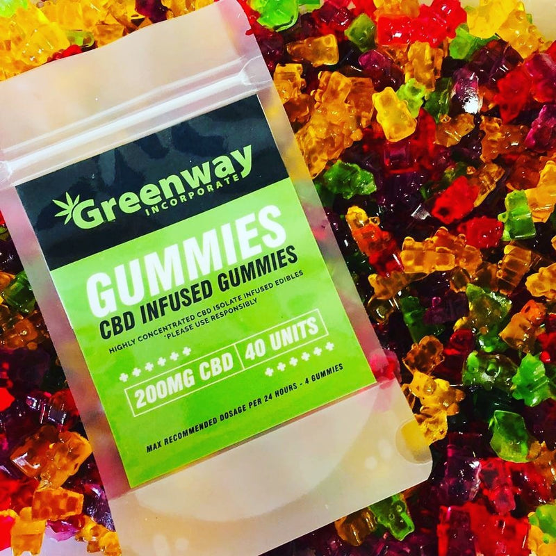 Greenway CBD Gummies 200mg / 40 units
