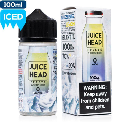 Juice Head | FREEZE Blueberry Lemon 3mg 100ml
