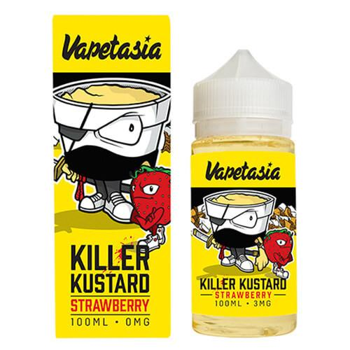 Vapetasia Killer Kustard Strawberry100ML  3MG