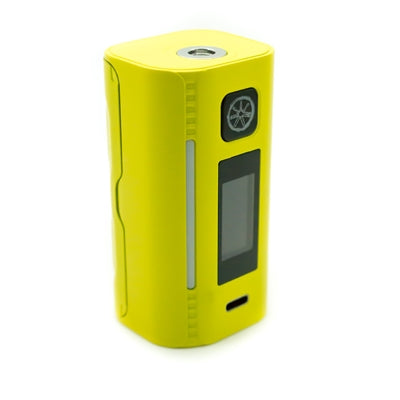NEW IN STOCK** ASMODUS LUSTRO 200W BOX MOD YELLOW – Atomix Vapes