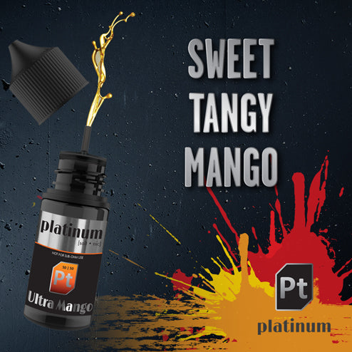 Platinum Vapour Nic Salts | Ultra Mango 25mg