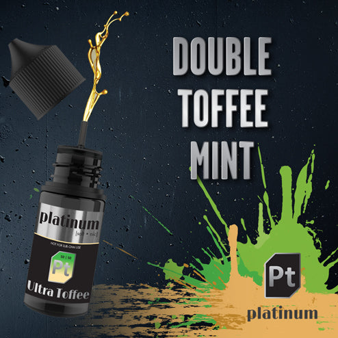 Platinum Vapour Nic Salts | Ultra Toffee 25mg