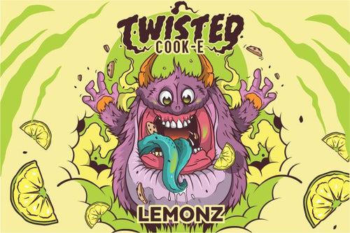 Twisted Cook-E Lemonz 50ML